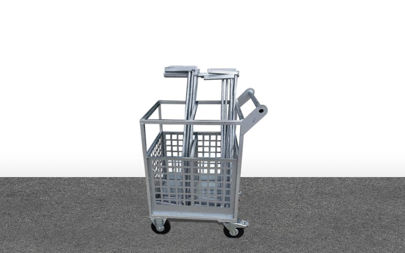Chariot stockage barres anti-chute – Linde