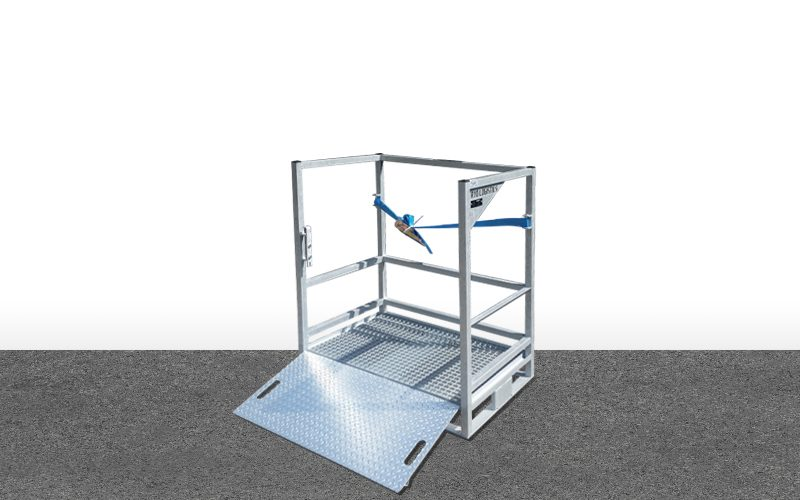 Palette de transport Type P12 – Airflow Cryologitics